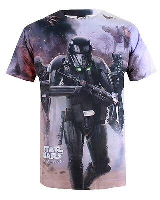 STAR WARS  T-Shirt - Beach Battle - Trooper - Rogue One - XL - NEU
