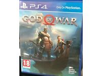 Ps4 gamez brand new in wrapper god of war