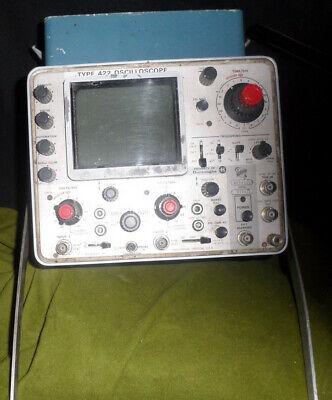 Vintage Tektronix Type 422 Oscilloscope