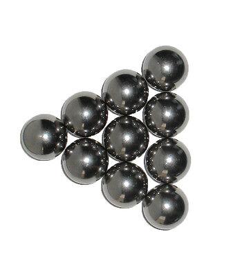 Ten 1 Inch Soft Polish Carbon Steel Monkey Fist Core Balls