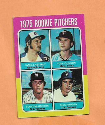 1975 Rookie Kannen Rhodan / Mcgregor Topps 1975 Karte #618 ()