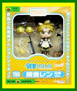 NEW!VOCALOID Nendoroid KAGAMINE LEN cheerful cheer leader anime Figure Doll Gift
