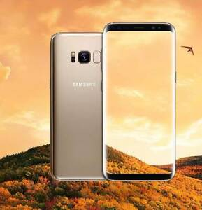 BRAND NEW SEALED GALAXY S8 64GB MAPLE GOLD WARRANTY TAX INVOICE Surfers Paradise Gold Coast City Preview