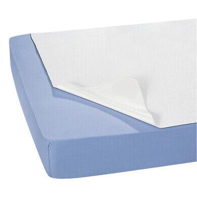 5er Pack PVC-Bettauflage, antiallergen, wasserundurchlässig, Weiß,. 70 x 100 cm