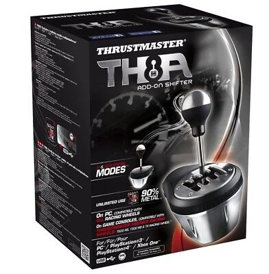 Thrustmaster Th8a Add On Gearbox Shifter For Pc  Ps3  Ps4 And Xbox One
