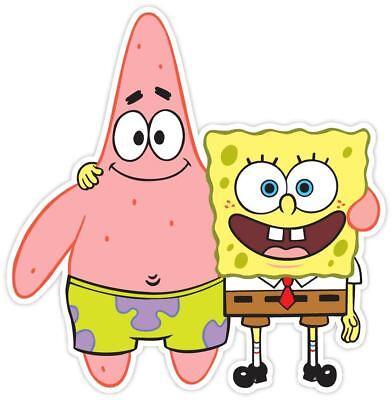 Patrick Spongebob Sponge Bob Vinyl Sticker Decal WALL - Spongebob Stickers