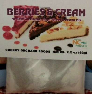 Berries & Cream Dessert Mix, fruit dips no-bake cheesecakes cream pies spreads (Cream Pie Mix)