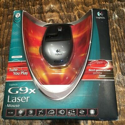 New Logitech Laser Gaming Mouse G9X