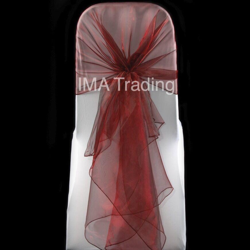 26M X 29CM Organza Roll Sash Fabric Chair Cover Bows Table Runner Sashes Sw Q9F8