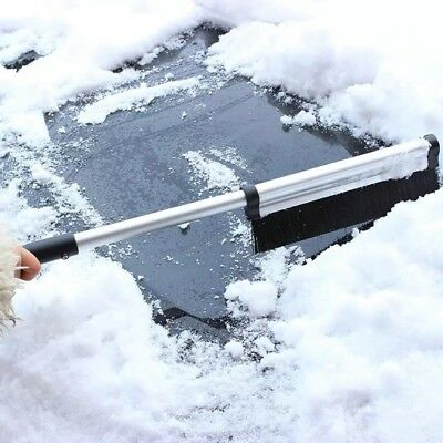 Newest Extendable Telescoping Car Ice Scraper Shovel Snow Brush Outdoor Removal