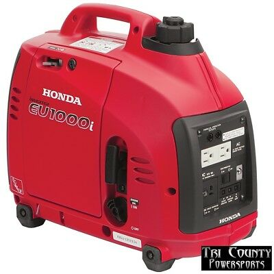 Honda Generator Eu1000 Generator 1000w 120 V Quiet And Fuel Efficient