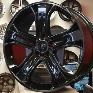 20 inch LandRover / RangeRover Rep Wheels -- BRAND NEW Gloss Black (4 New Rims $880 + Tax ) @Zracing 905 673 2828