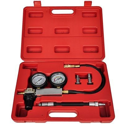 TU-21 Cylinder Leak Detector Tester Compression Leakage Kit Set  Petrol Engine