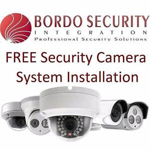 FREE Security Camera CCTV system with Free Installation