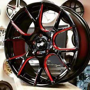 DAI Venom Passion Ruffino BOSS 18 Inch Rims $840 + Tax (4New) @Zracing 905 673 2828 Rim Tire Package $1240 + Tax