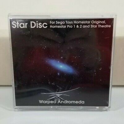 Sega Toys Homestar Original Pro 1&2 Planetarium Star Disc Warped Andromeda