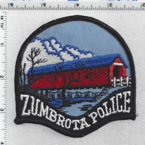 Zumbrota Police (Minnesota) 1st Issue Shoulder Patch