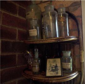 Vintage Chemist Bottles