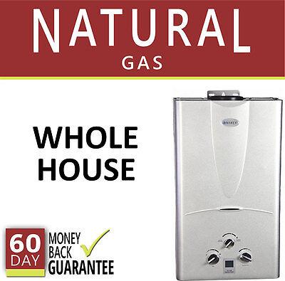 Tankless Hot A-one Heater 3.1 GPM Marey Easy Gas Digital 3 Bath In one piece Dwelling