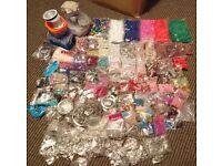 Job lot of jewellery making items