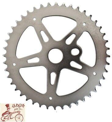 NEW BICYCLE CHAINRING SPROCKET SKULL /& BONES 1//2 X 1//8 X 44T BMX CRUISER BIKES