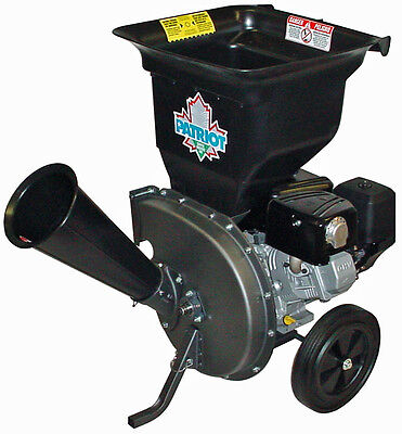 NEW Patriot CSV-3100B 10 hp Gas Wood Chipper Leaf Shredder