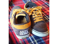 Used Vans ANTIHERO TNT4 UK size 10.5 good condition