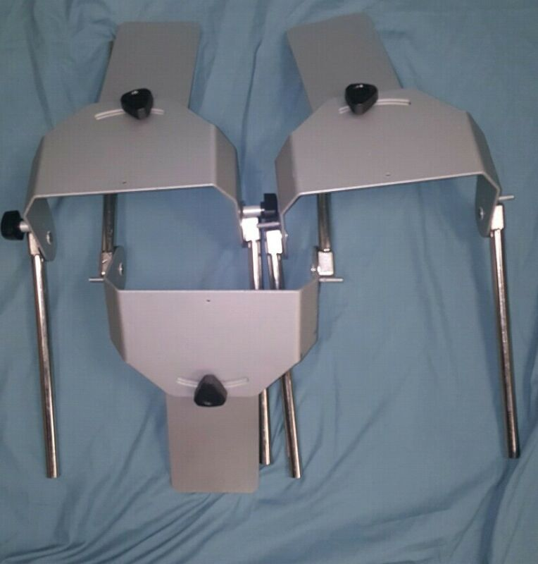 Mounting Bracket Plate for CPM Rehab Knee Therapy Continuous Passive Motion