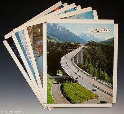 Konvolut Reklame Aufsteller 4 x Agfacolor um 1969-1971