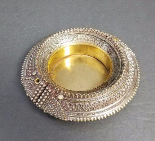 Omani Slave Ankle Bracelet Dish Bowl Ashtray African Antique Currency