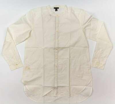 ANN TAYLOR Women's Long Sleeve Button Down Cotton Blouse - - Down Cotton