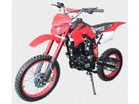 150cc DMX Pit bike. New 2016 model. Electric / Kick Start FREE Helmet