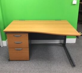 Cherry wave desk cheap