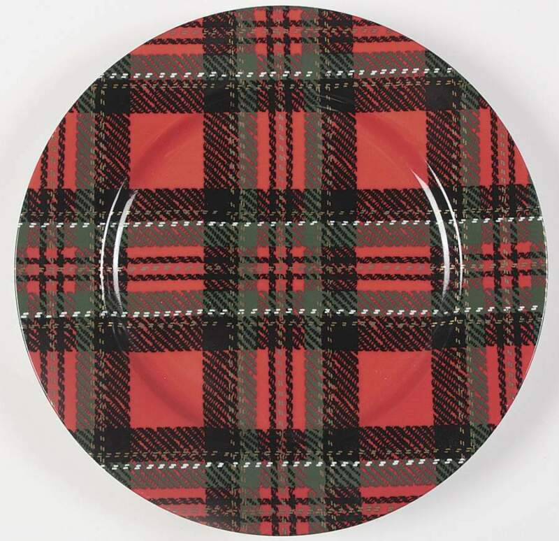 Fitz & Floyd Country Plaid Service Plate (Charger) 817197