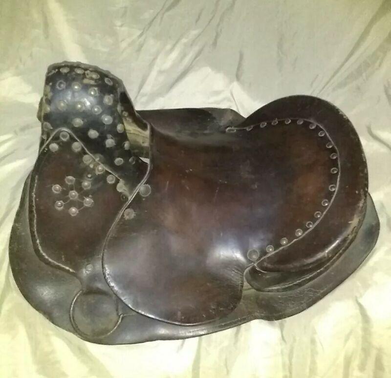 Mcbride saddle original authentic antique