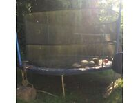 FREE. Large, 14ft Trampoline with Nets