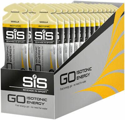 SIS GO Isotonic Energy Gel: Vanilla 60ml Box of 30