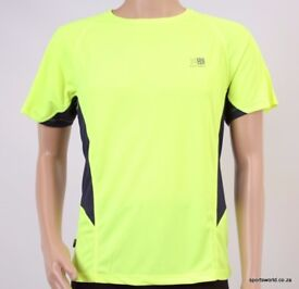 Hi Viz Mens Running T Shirt. Brand New