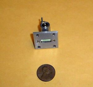 K-Band Microwave Gunn Oscillator 5mW@24.15GHz by ALPHA - NOS