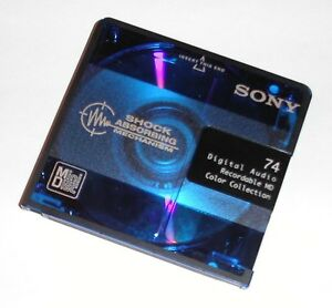 Looking For: MiniDiscs, players and accessories
