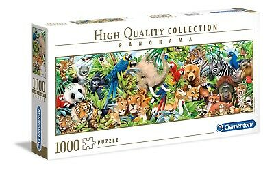 Clementoni Puzzle 1000 pièces Wildlife 39517 High Quality Collection Panorama