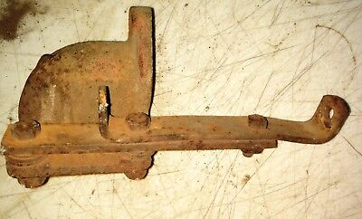 Case Dc Tractor Engine Water Elbow Generator Bracket Parts