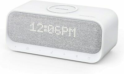 Anker Soundcore Wakey Bluetooth Speaker Alarm Clock Stereo FM Wireless Charger