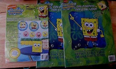 Spongebob Centerpieces (DesignWare Sponge Bob Birthday Centerpiece Party-decorations lot of 3 pkg)