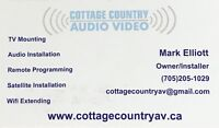 Audio Video Installs in Muskoka and Parry Sound