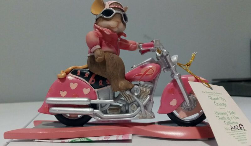 """Charming Tails """"BOUND BY COURAGE"""" Figure Trails Of A Cure Collection A0269"""