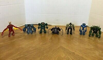 Lot of Ben 10 Action Figures Toys - Aliens Toys