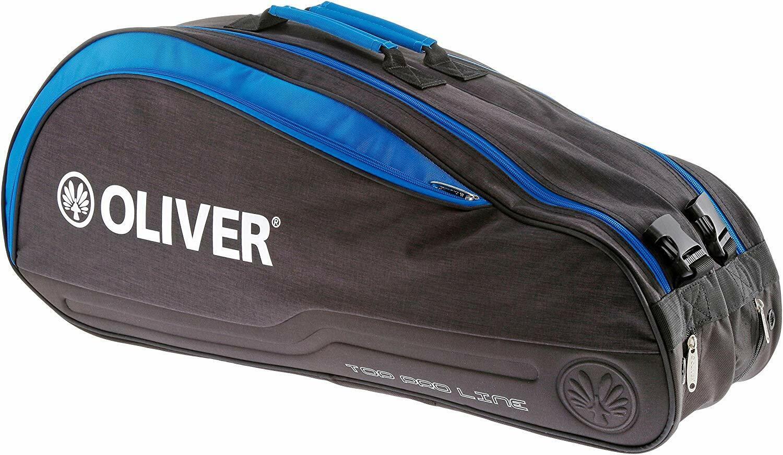 Oliver Tennistasche Top Pro Line Thermobag schwarz/blau, Neu & Portofrei