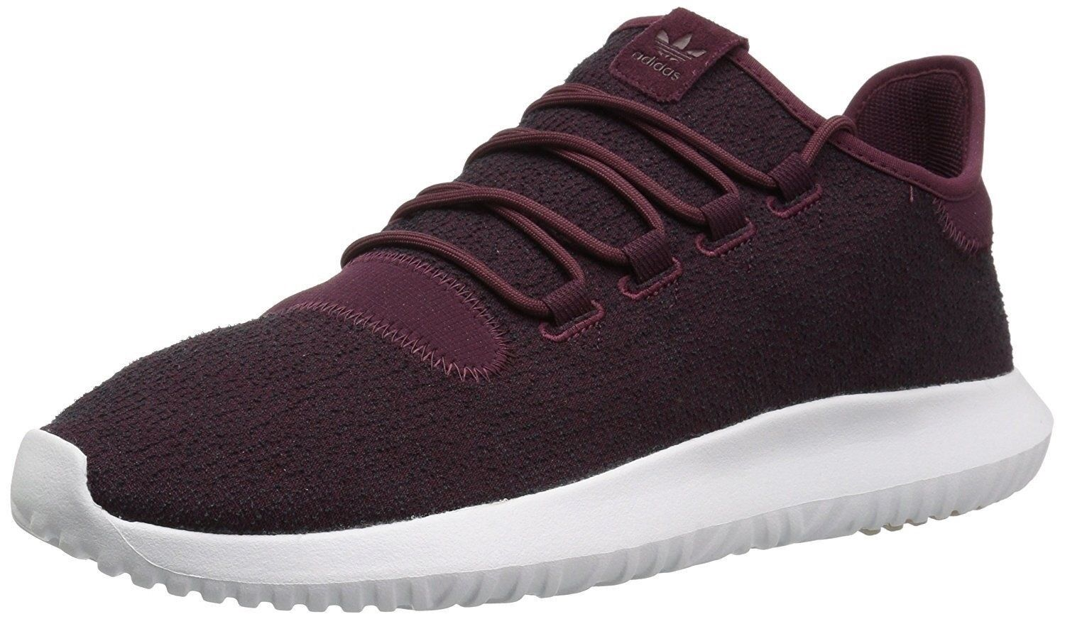 Men Athletic Sneakers Adidas Running Shoes Tubular Shadow CK Maroon Red CQ0927