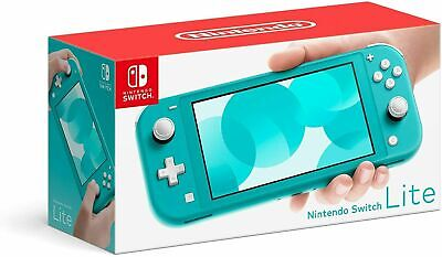NEW Nintendo Switch Lite 32GB Handheld Video Game Console - Turquoise Color